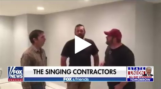 The Singing Contractors at Fox News